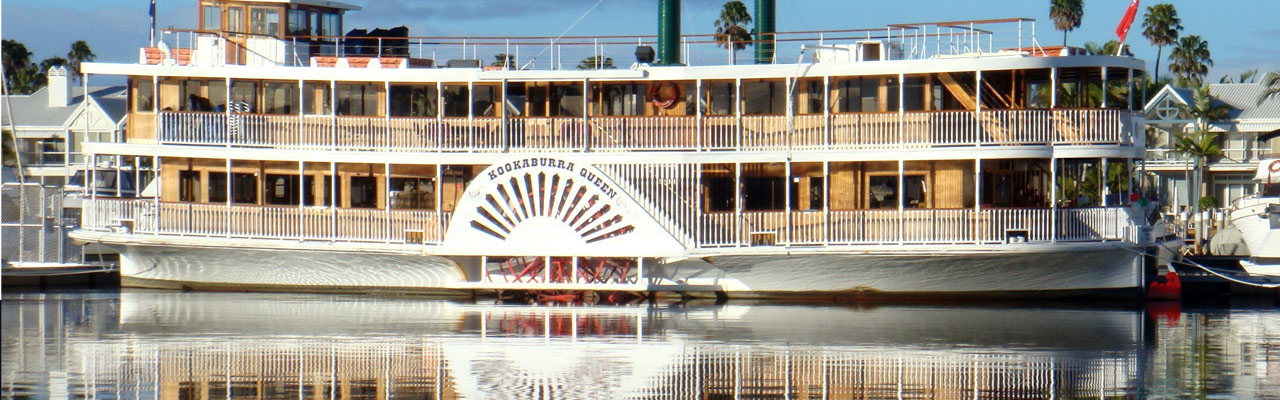 Kookaburra Showboat Cruises - background image