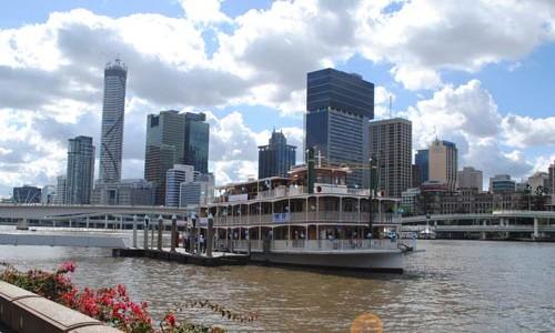 Kookaburra Showboat on the river, Brisbane City