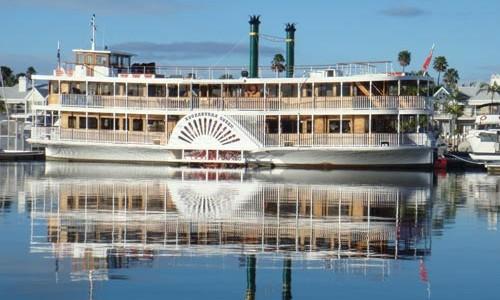 Kookaburra Queen paddlewheeler cruises, Brisbane RIver