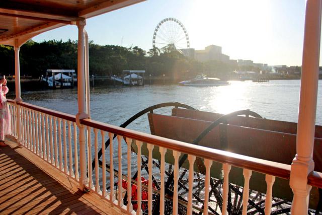 High Tea on board Brisbane's paddlwheeler