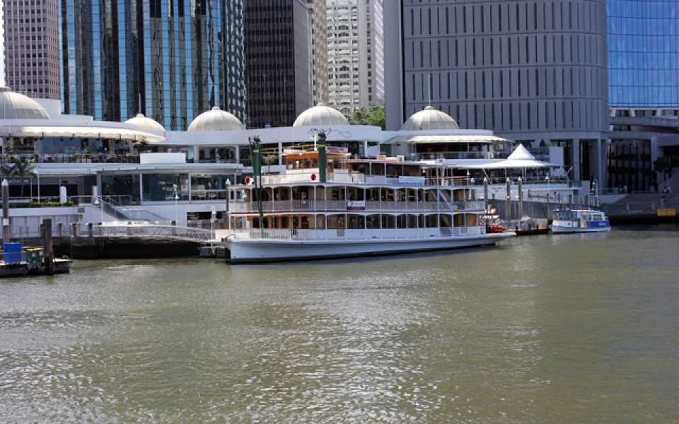 Kookaburra Queen II at Eagle Street Pier