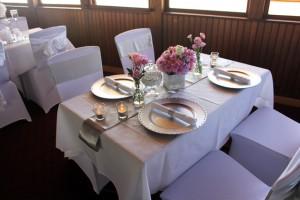Kookaburra Queen wedding setup Brisbane
