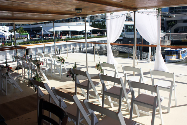 Wedding Ceremony Kookaburra Queen Brisbane