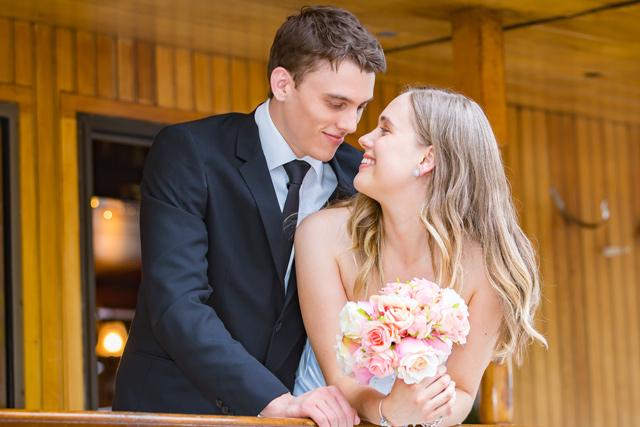 Unique and vintage inspired wedding on board Kookaburra Queen II